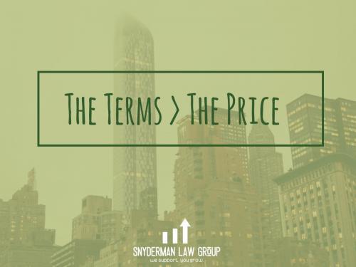 Terms>Price